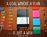 Panda Planner - Best Daily Calendar and Gratitude Journal to Increase Productivity, Time Management & Happiness - Hardcover, Non Dated Day - 1 Year Guarantee