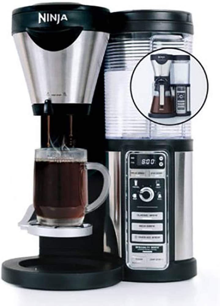 Amazon.com: Ninja Coffee Bar with Glass Carafe and Auto-iQ ...