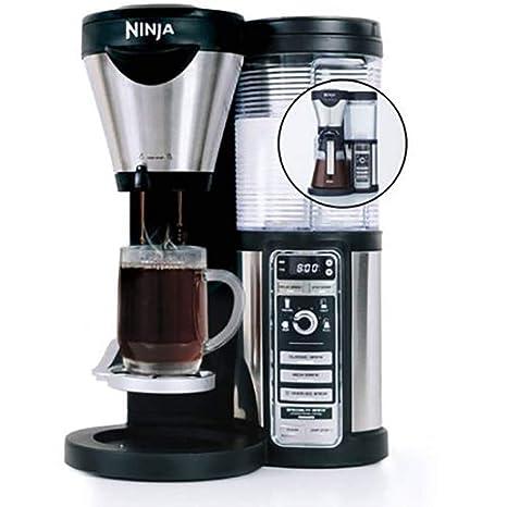Amazon.com: Ninja Coffee Bar con jarra de vidrio y auto-iq ...