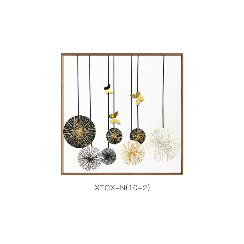 DEE Ambiente Simple, Pintura Decorativa del Estilo nórdico Abstracto, Pintura de Pared Creativa del Fondo del sofá del Estilo casero,B,60  60