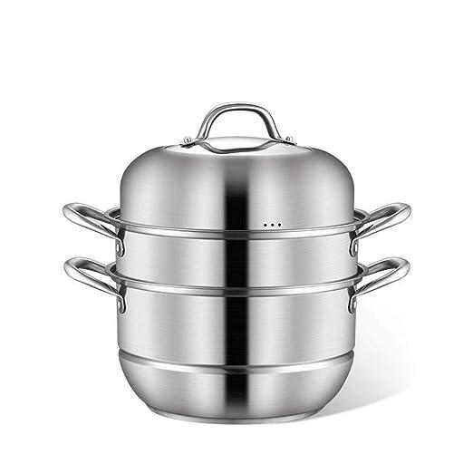 Wyyggnb Vaporizadores for cocinar, Olla de Vapor de Acero ...