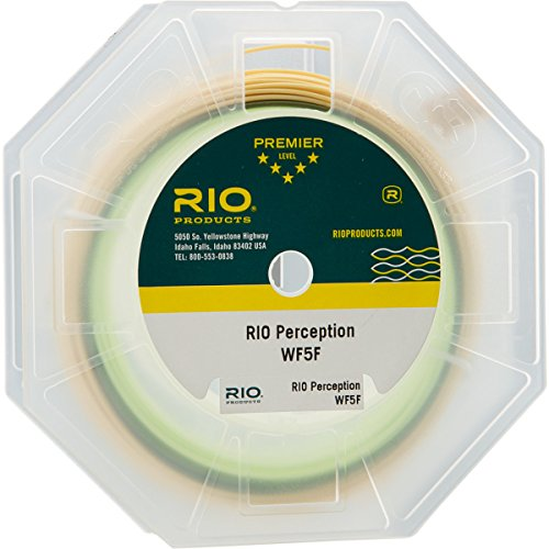 - RIO Fly Fishing Fly Line Perception Wf6F Green Fishing Line, Green-Camo-Tan