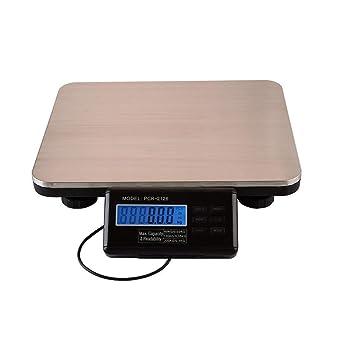 oubay Lew 300 kg 660lbs electrónica cocina del paquete – Báscula digital de plataforma con pantalla