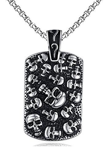Golastartery Style Titanium Pendant Necklaces