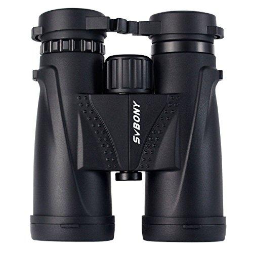 SVBONY 8x42mm Compact Binoculars Waterproof Binocular Bak4 B