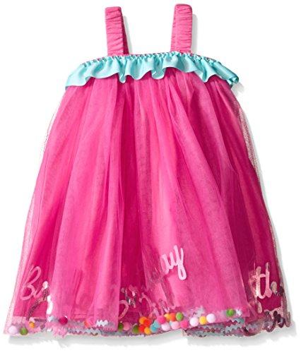 Mud Pie Baby Girls Birthday Dress Multi 12 Months 4T