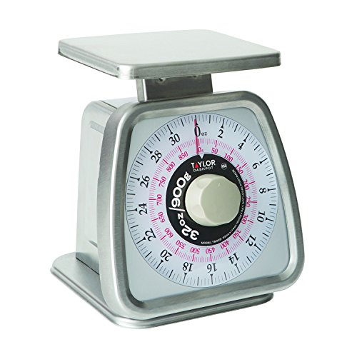 cal Portion Control Scale with Dashpot, NSF - (32 oz /900 g) (Air Dashpot)