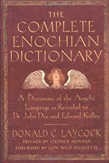 Enochian vision magick an introduction and practical guide to the the complete enochian dictionary a dictionary of the angelic language as revealed to dr fandeluxe Choice Image