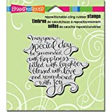 Stampendous CRQ230 Cling Stamp, Special Day