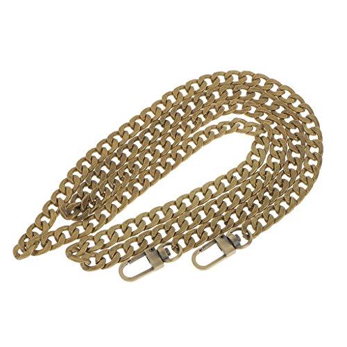 [해외]일반 금속 지갑 숄더 가방 체인 스트랩 핸드백 크로스 바디 백 체인 교체 120cm/Generic Metal Purse Shoulder Bag Chain Strap Handle Handbag Crossbody Bag
