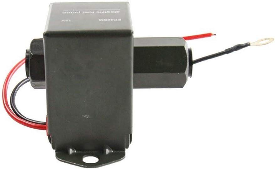 Pompe /à essence 12V universelle Pompe /à essence 12 Volt Solid State 4 /à 6psi /électrique Facet style Essence Diesel /éthanol huile Pompe /à essence La pompe /à huile