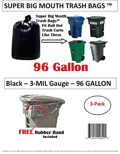 Super Big Mouth Trash Bags