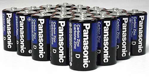 24 Pack Wholesale Lot Panasonic Super Heavy Duty D Batteries