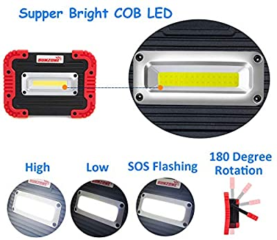 Portable LED COB Work Light