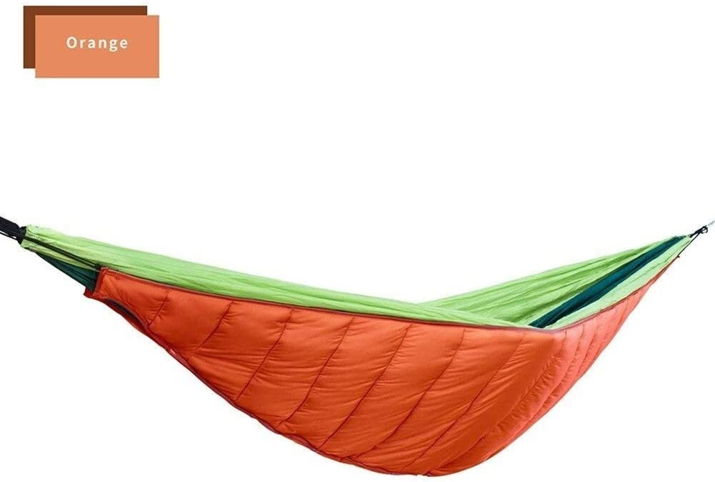 Hangmat Ultralight Cotton Thermal Top Cover for Outdoor Camping Groot for Volwassenen Kids plm46 (Color : Orange) Orange