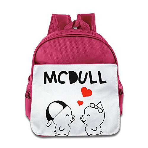 [Lovely Baby McDull Love Children Pink School Backpack For 1-6 Years Old] (Baby Megamind Costume)
