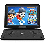 DR. J Professional 14.1 inch 7 Hours Portable HD DVD Player with Build-in
