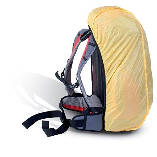 Zaino Zainetto Borsa da Trekking Campeggio Viaggi 40 Litri Scout con Coprizaino