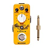 Mooer Micro Pedal Liquid Phaser Digital Phaser with 5 different phase effect types with Pedal Connctor,MusicOne