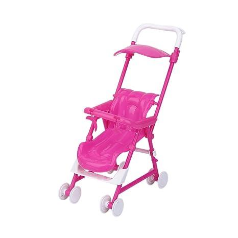 Bebe Carrito Carro Carretilla Cochecito Barbie Muebles Para Kelly Muneca Doll