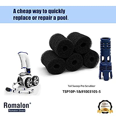 Romalon 6 Pack TSP10P and 91003105 Pool Cleaner Water Flow Enhancer, Replacement for Polaris Pressure-Side Pool Cleaner 180, 280, 360, 380, 3900 Sport: Garden & Outdoor