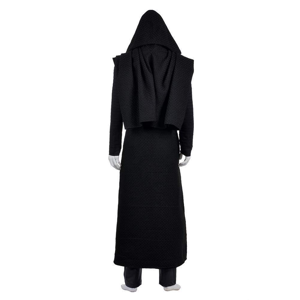 Star Wars 7 Force Awakens Kylo Ren Men/'s Uniform Halloween Cosplay Costume