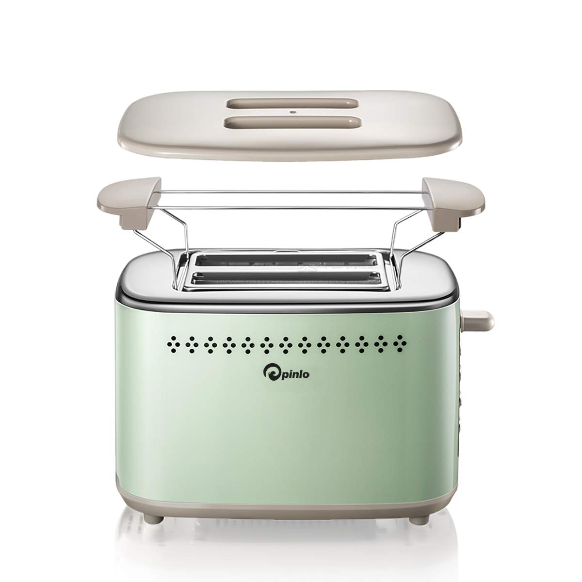 Toaster 2 Slice Stainless Steel Toasters With 2 Extra Wide