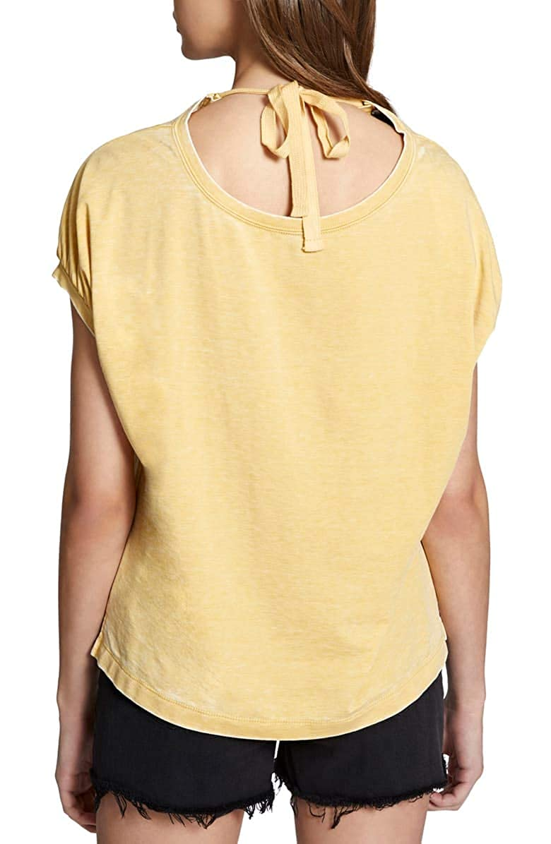 Sanctuary Clothing Womens Sundance Tie-Back Top