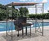 Grill Gazebo,Patio Gazebo, Metal,Rust Resistant 7 x 5 ft.-For The Grill Enthusiast .