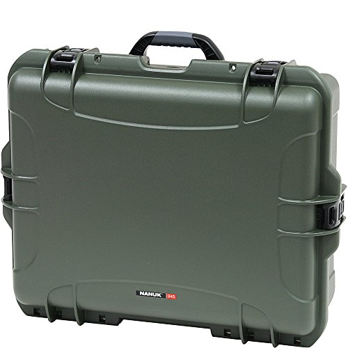 Nanuk 945 Waterproof Hard Case with Padded Dividers - Olive