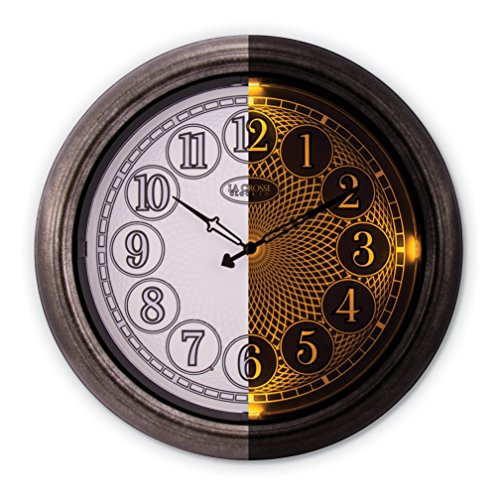 Lighted Outdoor Clock in Florida - 9