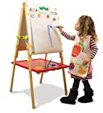 dabble board game - World of Eric Carle, The Very Hungry Caterpillar Little Artist Easel with Paint Cups