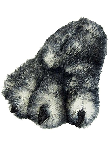 [Wishpets Stuffed Animal - Soft Plush Toy for Kids - Black Tip Claw Slippers] (Halloween Costumes Ideas For Girls Age 12)