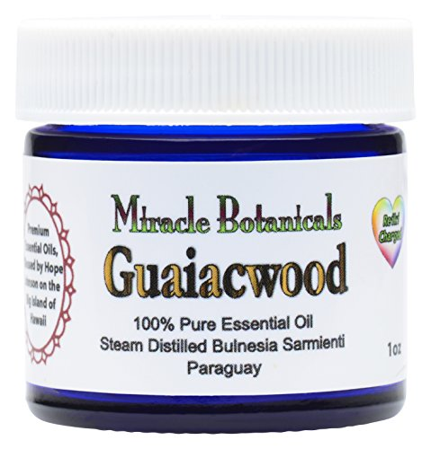 Miracle Botanicals Guaiacwood Essential Oil - 100% Pure Bulnesia Sarmienti - Therapeutic Grade - 30ml/1oz (Bar Soap Nature Oils Essential)