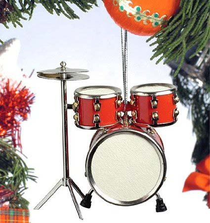 Red Drum Set Hanging Ornament