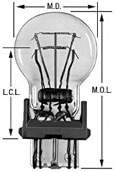 Wagner Lighting Bp3157 Miniature Bulb - Card Of 2