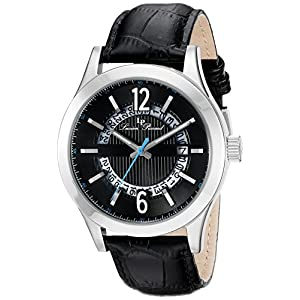 Lucien Piccard Men's LP-40020-01 Oxford Analog Display Quartz Black Watch