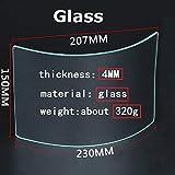 CKLT Sandblasting Hood Replacement Lens Glass