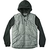 RVCA Men's Puffer Quiltd Expedition Jacket, Pirate Black, Small