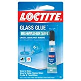 Loctite 233841 Super Glass Glue Crystal Clear And Dishwasher Safe
