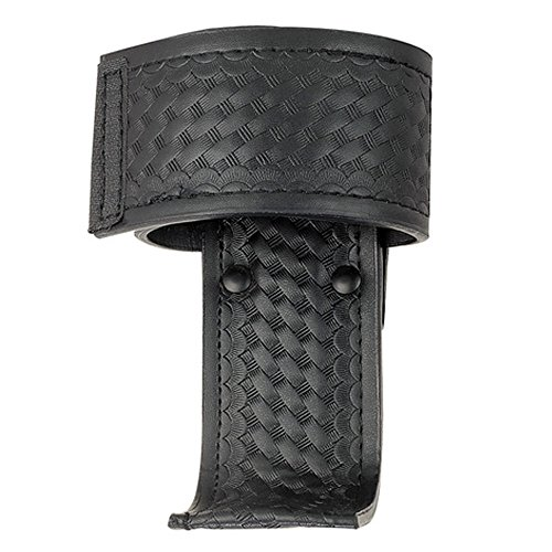 Basketweave Universal Fits Radio Pouch L-style Radio Holster (Leather Universal Radio)