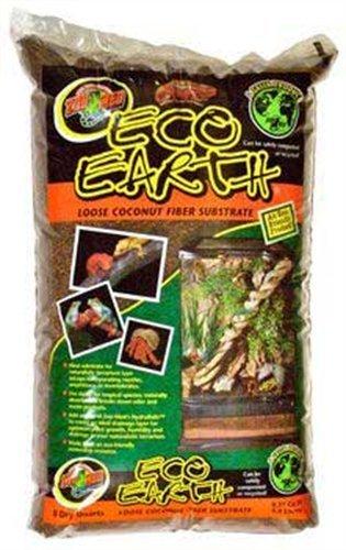 Zoo Med Eco Earth Loose Coconut Fiber Substrate, 8 Quarts ()