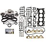91 honda accord dx - ECCPP Timing Belt Water Pump Kit and Head Gasket Sets,Automotive Replacement parts Fits 1990-1993 HONDA ACCORD DX LX 91 SE 2.2L L4 SOHC F22A1 F22A6