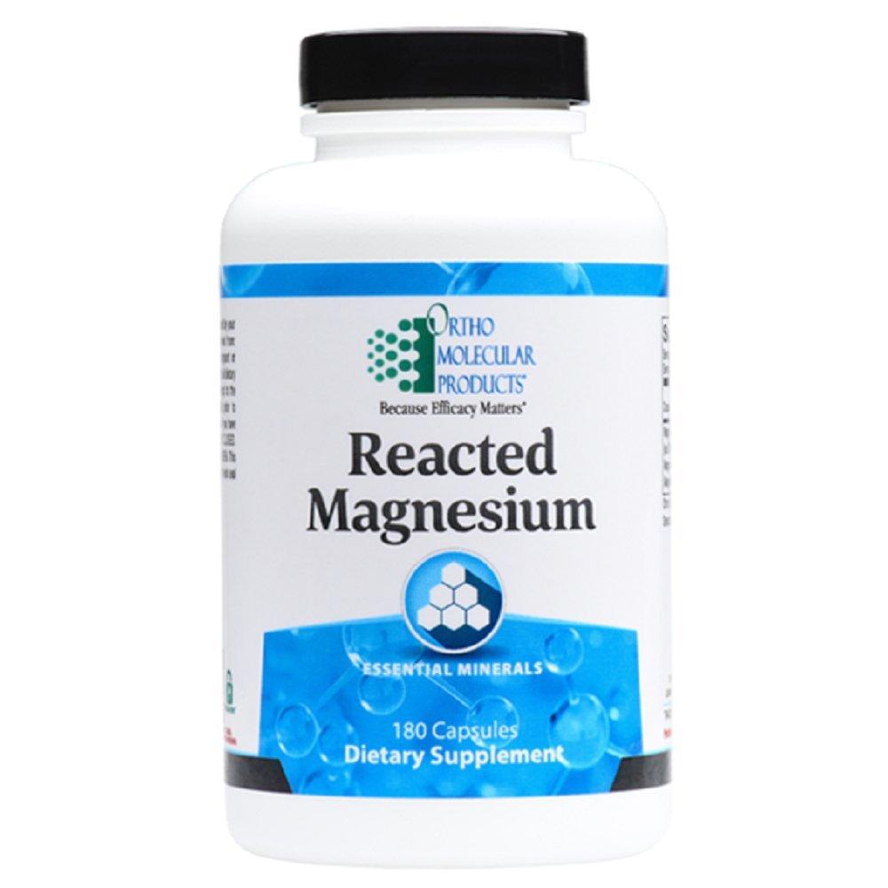 Ortho Molecular - Reacted Magnesium - 180 Capsules