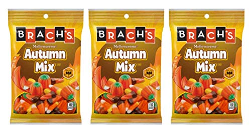 Brachs Autumn Mix Candy Corn 4.2 oz (pack of 3)]()