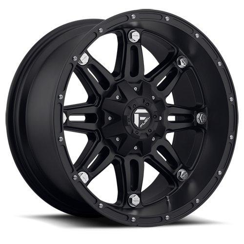 Fuel Offroad Wheels D531 17x8.5 Hostage 6x1356x5.5 BD5.25 14 106.4 Matte Black