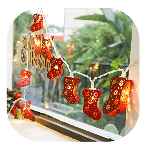 Red Berry Outdoor Fairy Lights in US - 8