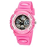 Yavinet Sport Kids Analog Digital Wrist Watch for Girls Chronograph