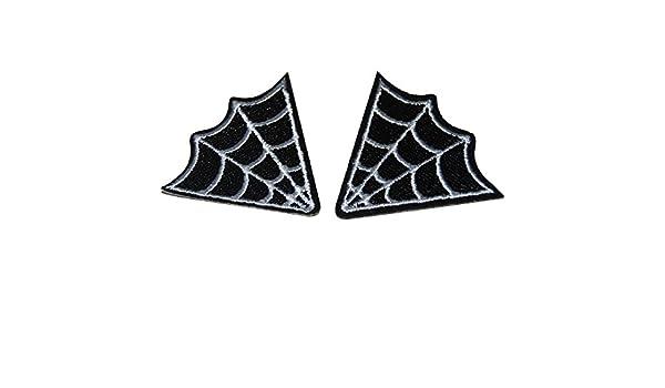 Blanco y Negro Tela de araña gótico Punk tatuaje estilo hierro en ...