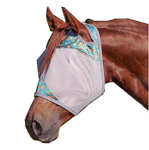 Quiet Ride Fly Mask - 9